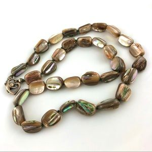 Jewelry - Gorgeous Abalone Shell Bead Necklace